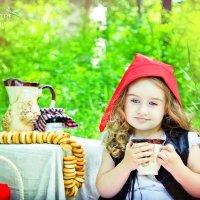 фотопроект красная шапочка :: Лариса Позолотина