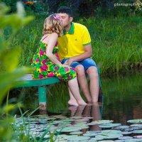 На мостике в деревне :: Ирина Митрофанова студия Мона Лиза
