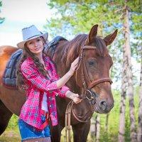 девушка и лошадь :: Анна Франкова