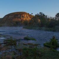 Ишутинское городище утро :: Илья Костин
