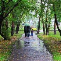 """Под вечерним дождём"" :: Андрей Коновалов"