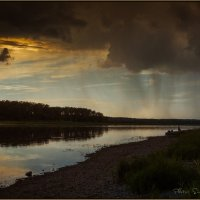 Гроза на реке :: Сергей Винтовкин