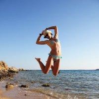 Летнее море и позитив в одном фото)) :: Настя Хмытьева