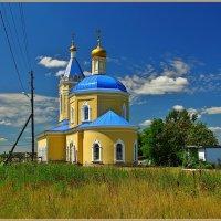 Церковь Иконы Божией Матери Казанская в Грайворонах, 1850-1854 :: Дмитрий Анцыферов