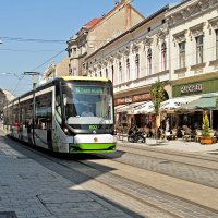 Hungarian Tram :: Roman Ilnytskyi