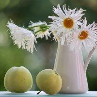 Натюрморт с яблоками :: Евгения Иванова