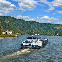 Путешествие по весеннему Рейну :: Лидия Цапко