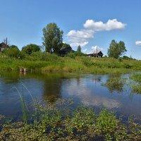 деревенька у реки :: Galina