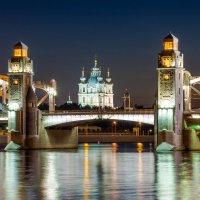 Санкт-Петербург, Большеохтинский мост :: Владимир Демчишин