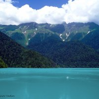 Озеро Рица :: Вадим Кудинов