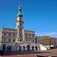 Zamosc city hall :: Roman Ilnytskyi