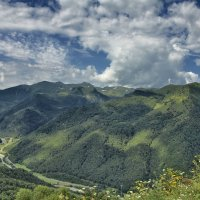 Долина реки Зеленчук :: Владимир Богославцев(ua6hvk)