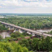 мост через Клязьму :: Сергей Цветков