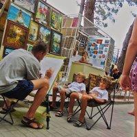 уличный художник :: Валерий Дворников