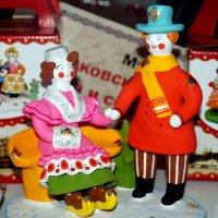 Дымковская игрушка... :: Наталья Агеева