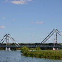 Мост через озеро Бельское. :: Oleg4618 Шутченко