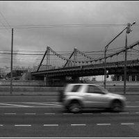 Моя Москва. Крымский мост :: Михаил Розенберг