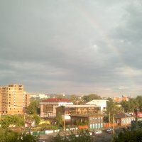 радуга над Иркутском :: василиса косовская