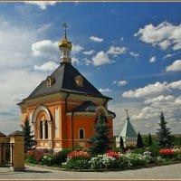 храмы Оптиной :: Дмитрий Анцыферов