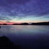 захід сонця над Дніпром :: МищЪя Бульбо