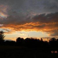 Вечернее небо :: Алексей Денисов