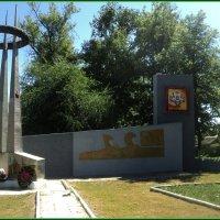Памятник воинам в селе Кисляй Бобровского района Воронежской области :: Ольга Кривых