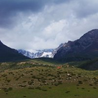 Гроза в горах :: Татьяна Усова