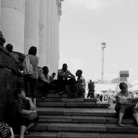 ожидание поезда :: Юлия Закопайло