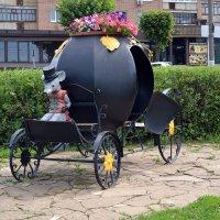 Необычная скульптура в Ижевске :: Борис Русаков