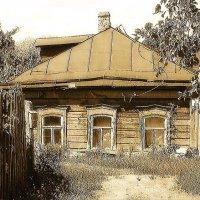 Старинный русский дом. (Timm) :: Timm Смыслов