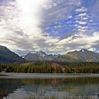 Sky over the Lake :: Roman Ilnytskyi