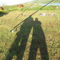 Солнце взошло. А мы-ы рыбачим. :: Olga Grushko