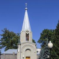 Колокольня Свято-Вознесенского собора в Алагире :: Николай Николенко