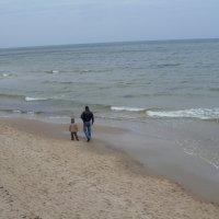 Прогулка с папой :: lara461