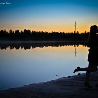 закат, :: Анна Франкова