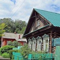 Домик с окошками на Ипатьевский монастырь. :: Ирина