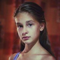 Голубая маечка :: Анастасия Долинская