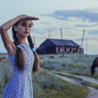 Пастушка :: Анастасия Долинская