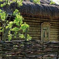 """""""И старый дом бревенчатой судьбой..."""" :: Лесо-Вед (Баранов)"""