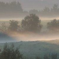 Туманные дали.... :: Юрий Цыплятников