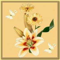 Цветочный коллаж :: Юлия Z