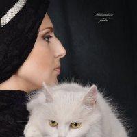 белое на черном :: Julia Miloserdova