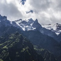 Горы Цейского ущелья :: Николай Николенко