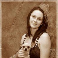 дама с собачкой :: Андрей Горбунов