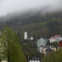 Дождь и Берген :: Валентина Харламова