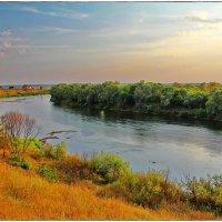 река Угра, здесь решилась судьба Русского государства :: Дмитрий Анцыферов