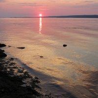 Вода на закате :: Ната Волга