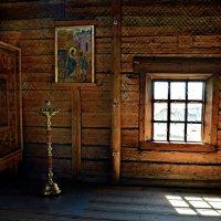 Внутрь церкви   Покрова Богородицы. (1764) Ос. Кижи. :: Маry ...