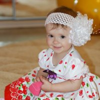 Солнышко моё! С первым Днем рождения! :: Инна Кондратьева