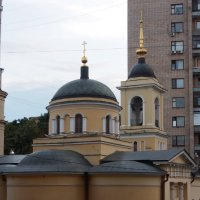 Церковь Афанасия и Кирилла в Москве :: Сергей Михальченко